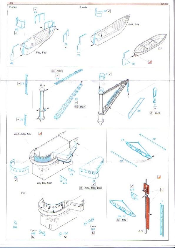 [Eduard] set photodecoupe pour HORNET trumpeter 1/350 Hornet12