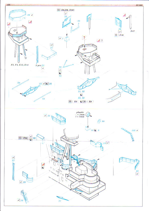 [Eduard] set photodecoupe pour HORNET trumpeter 1/350 Hornet14