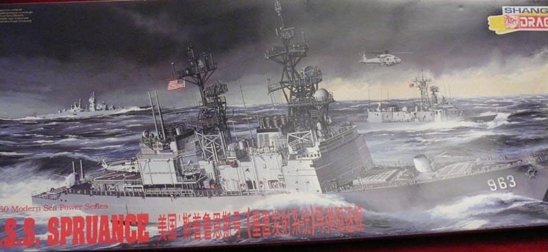 [Dragon] USS SPRUANCE 1/350 P1000610