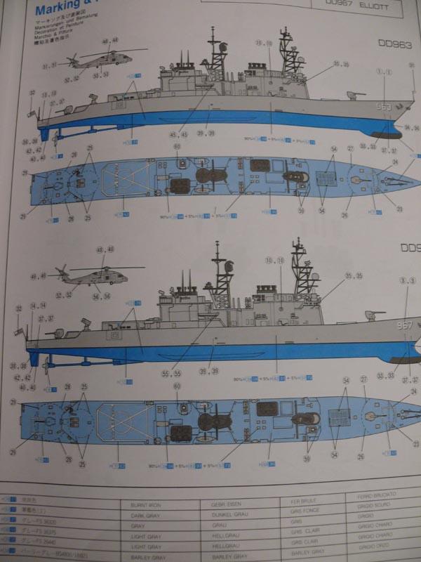 [Dragon] USS SPRUANCE 1/350 P1000613