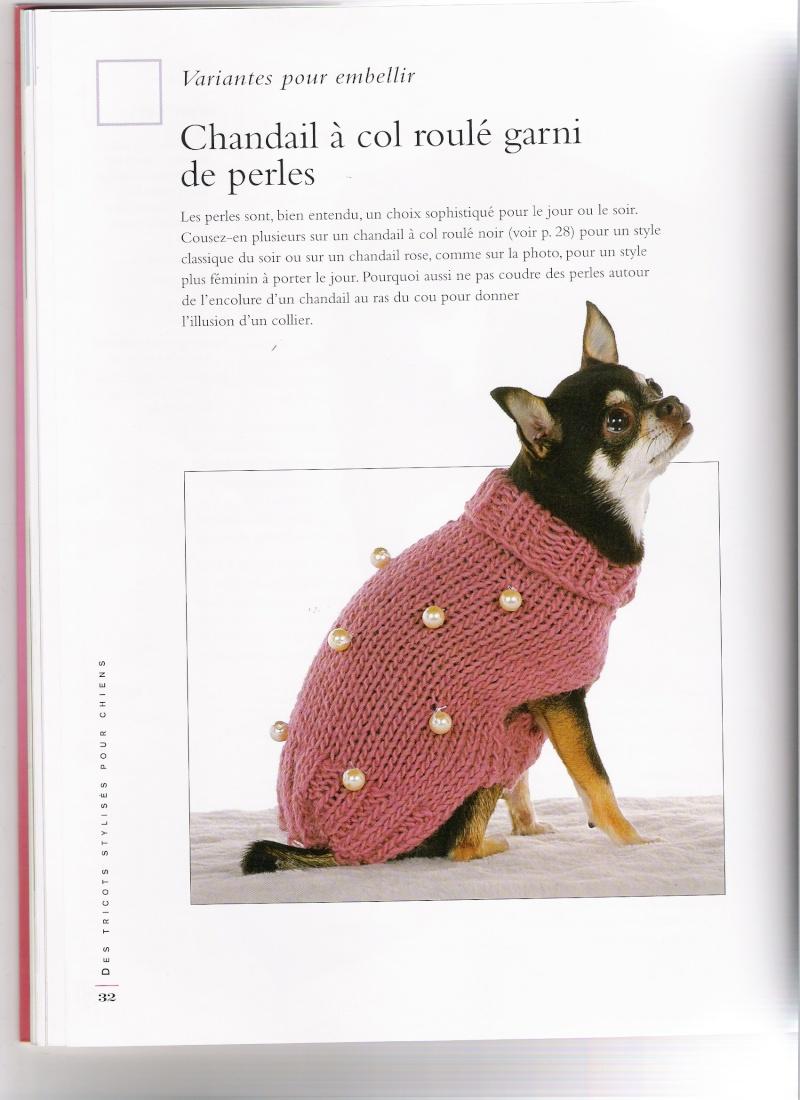modeles de manteaux pour chiens Chanda21