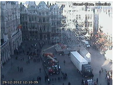 Webcam Bruxelles Sapin10