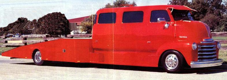 "mon second COE ""Chevy 50 ramp truck XXL"" 00a22"