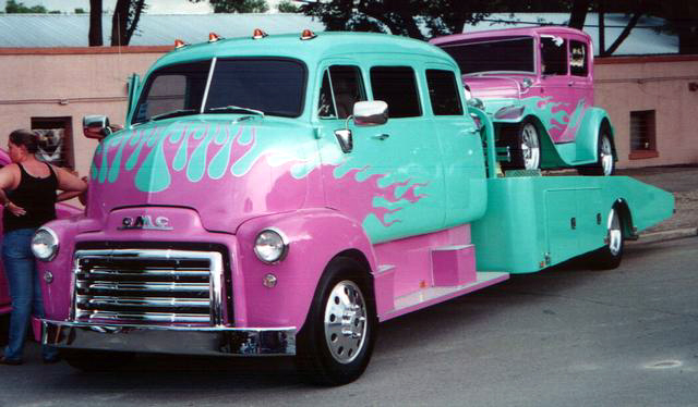 "mon second COE ""Chevy 50 ramp truck XXL"" 00c25"