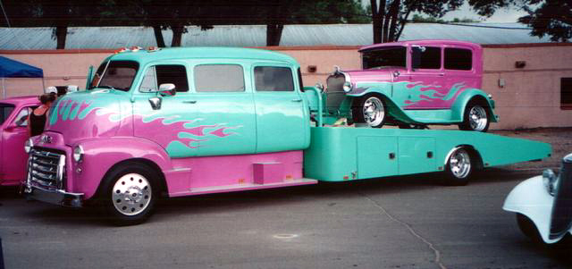 "mon second COE ""Chevy 50 ramp truck XXL"" 00d21"