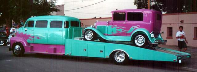 "mon second COE ""Chevy 50 ramp truck XXL"" 00e19"
