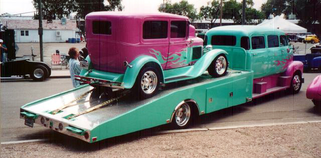 "mon second COE ""Chevy 50 ramp truck XXL"" 00f19"