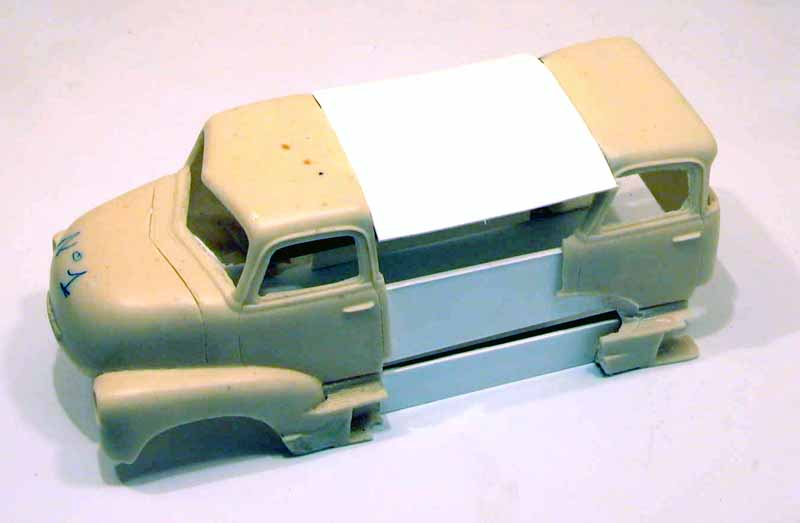 "mon second COE ""Chevy 50 ramp truck XXL"" Aut44516"