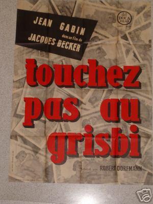 Touchez pas au grisbi Affich22