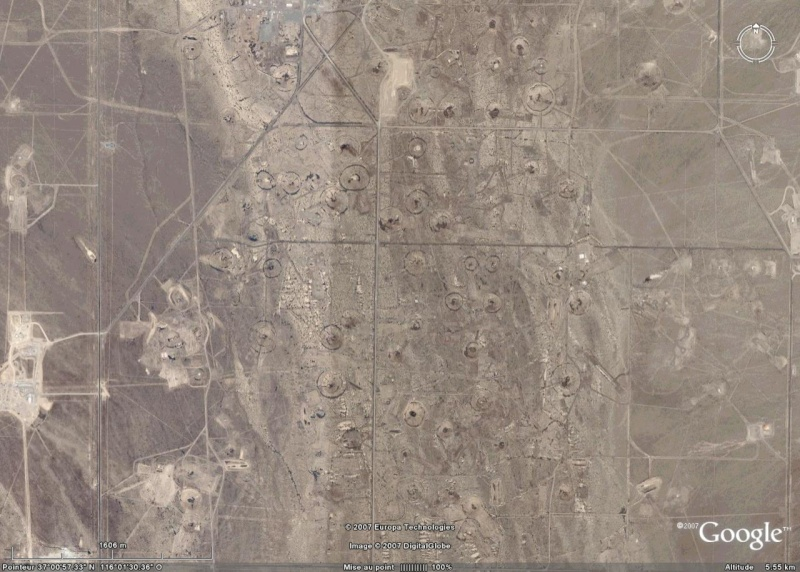 Nevada Test Site, NV, USA Crater12