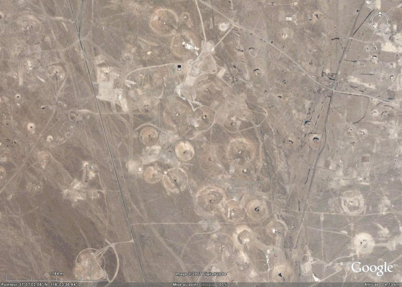 Nevada Test Site, NV, USA Crater14
