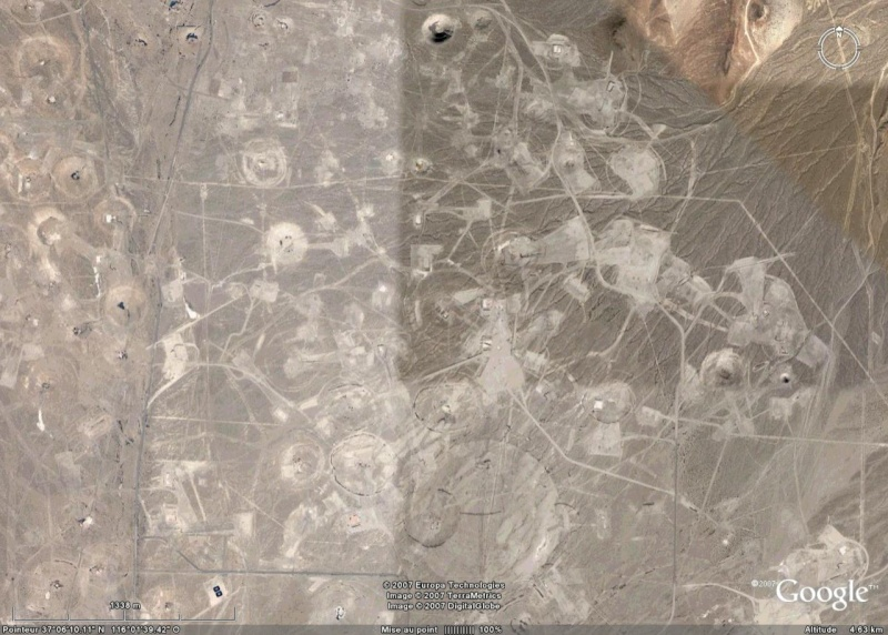 Nevada Test Site, NV, USA Crater15