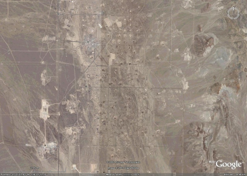 Nevada Test Site, NV, USA Crater16