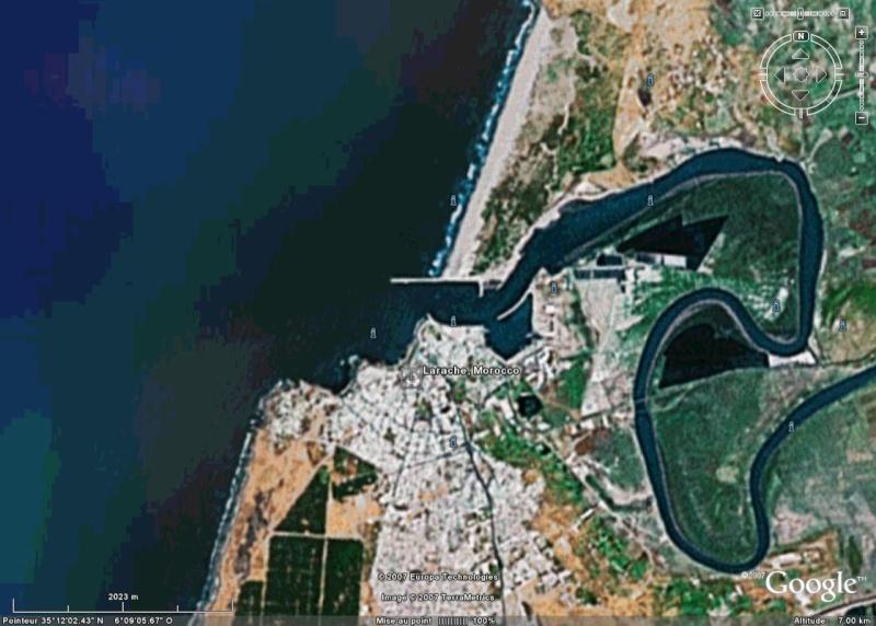 Recherche de photos satellitaires de 3 ports Larrac10