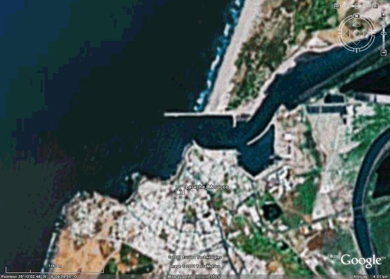 Recherche de photos satellitaires de 3 ports Larrac11