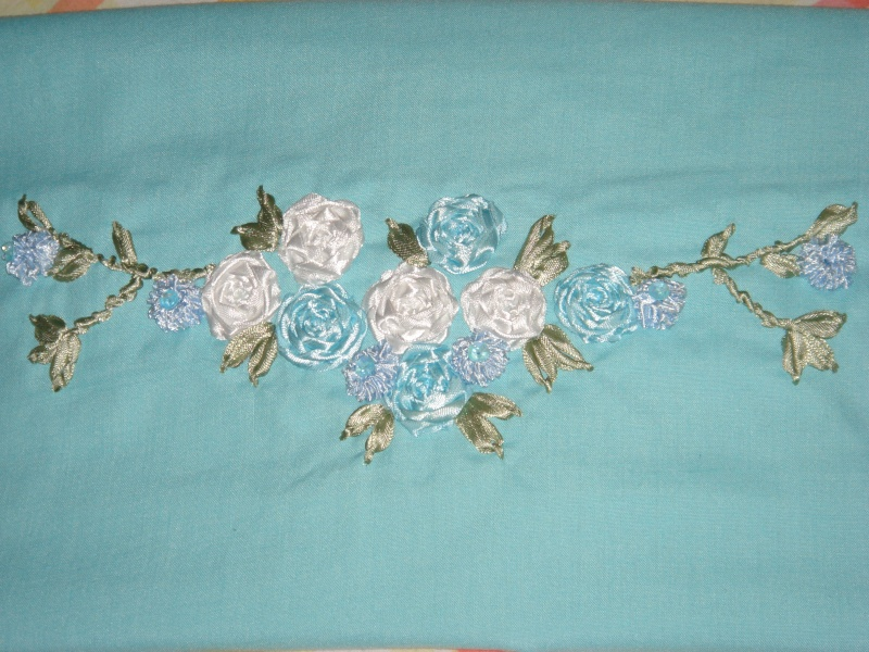 Des roses ....turquoise  Dsc01019