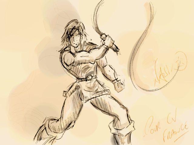 Des dessins uniquement sur l'univers Castlevania - Page 2 Belmon10