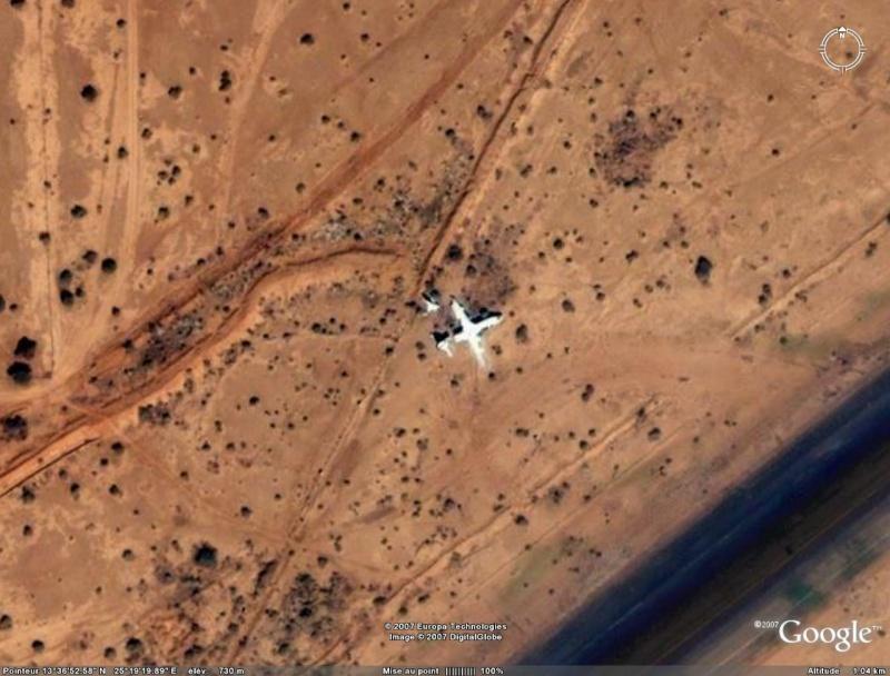 Atterrissage manqué, Al Fashir, Soudan Atterr10