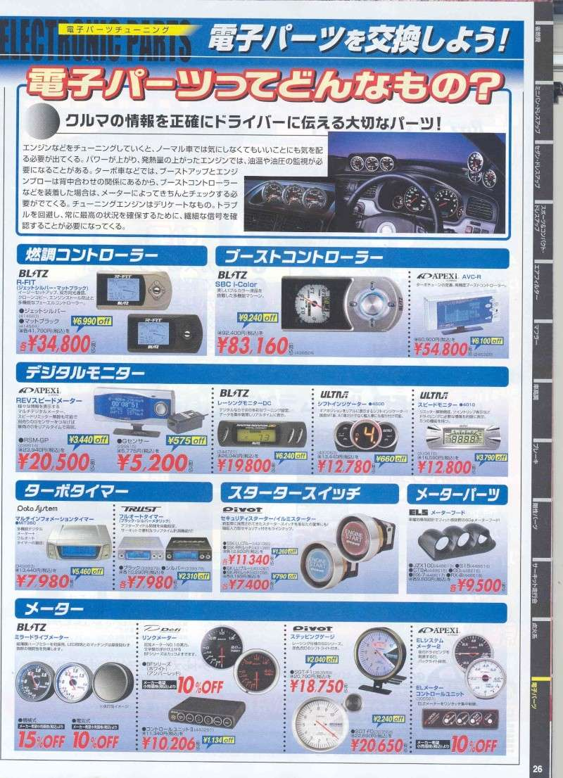from Japan,,,AutoBacs. Product Catalog. Pg1810