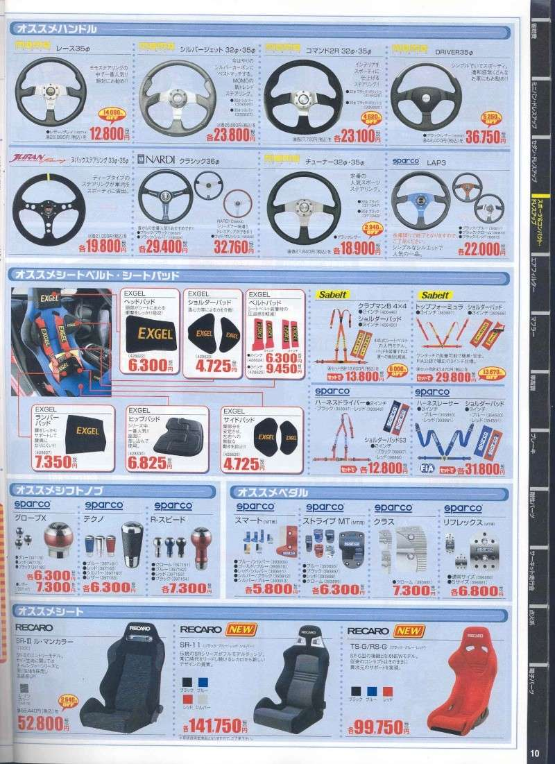 from Japan,,,AutoBacs. Product Catalog. Pg210