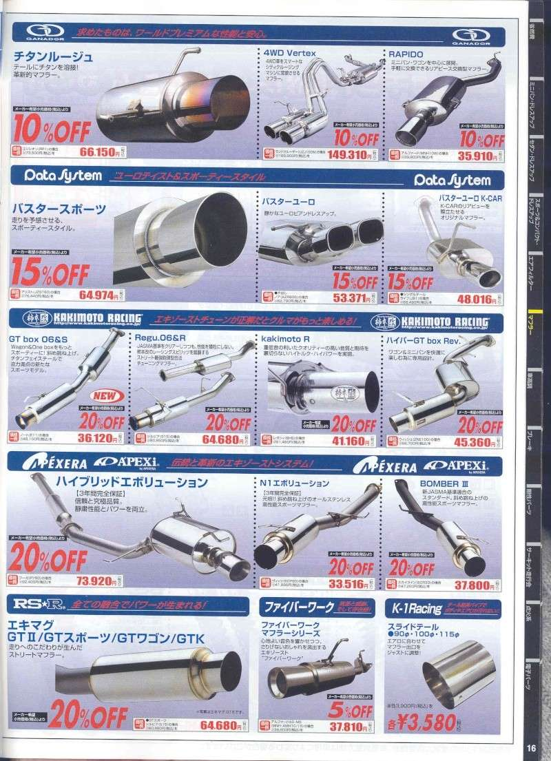 from Japan,,,AutoBacs. Product Catalog. Pg810
