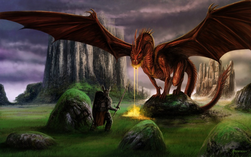 Zira, the fallen angel Dragon10
