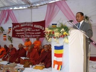 H.E U Kyi Thein graced Dhamma Sabha as Chief Guest Chief-10
