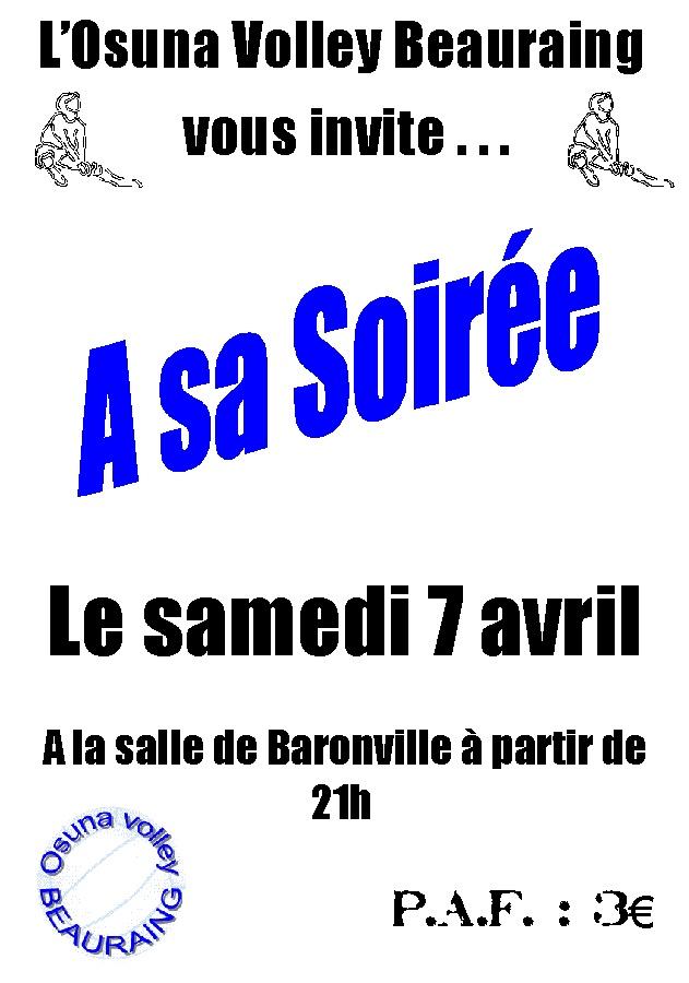 Soirée du Volley le 7 avril Soiree10