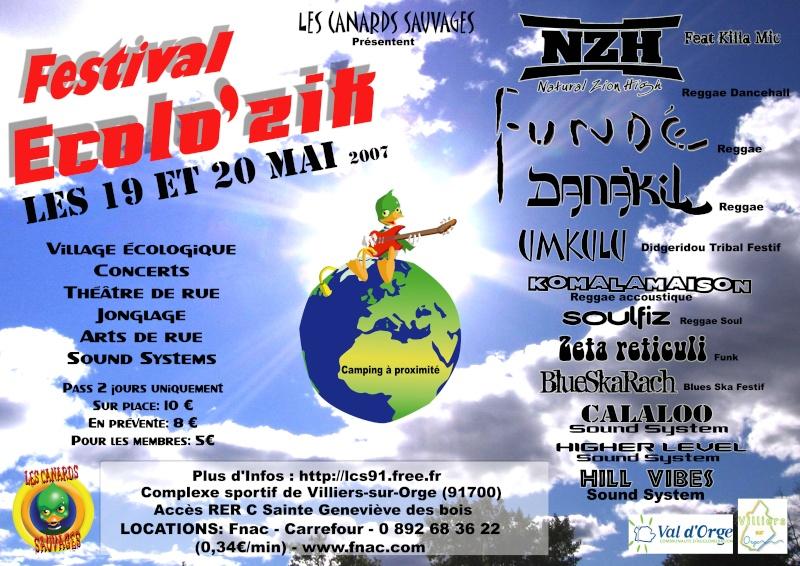 Le Festival Ecolozik 2007 Affich11