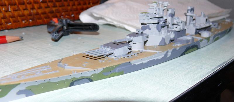 [Tamiya] HMS PRINCE of WALES 1/700 P1000610