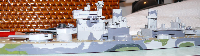 [Tamiya] HMS PRINCE of WALES 1/700 P1000611