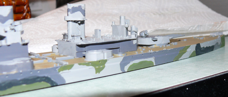 [Tamiya] HMS PRINCE of WALES 1/700 P1000612