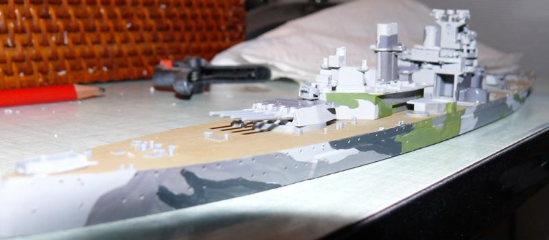 [Tamyia] HMS PRINCE of WALES 1/700 P1000613
