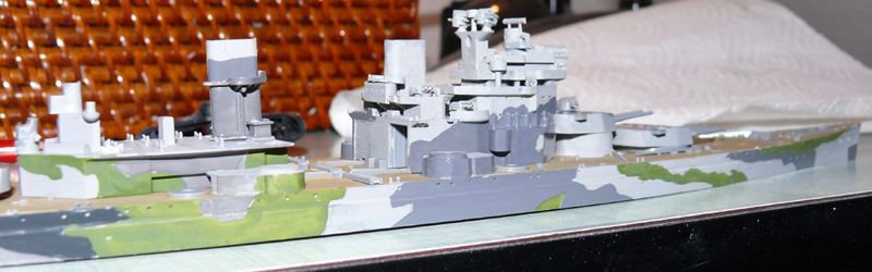 [Tamyia] HMS PRINCE of WALES 1/700 P1000614