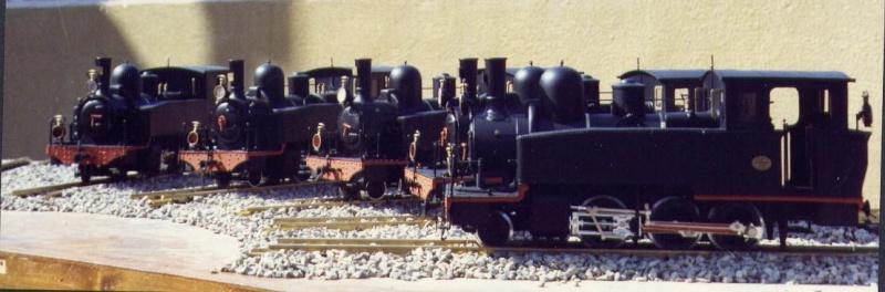 les 5 màquines St Léonard del tren d'Olot (FFCC de la Terrassa) File0010