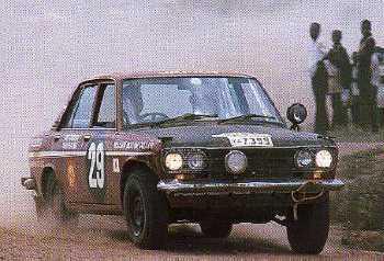 Datsun & le EST AFRICAN SAFARI RALLY . Rétrospective... Datsun11