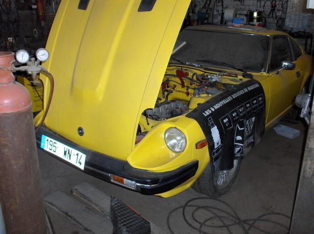 Le mysterre de la 280ZX jaune Datsun12