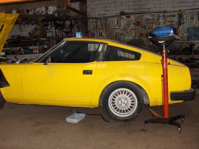Le mysterre de la 280ZX jaune Datsun13