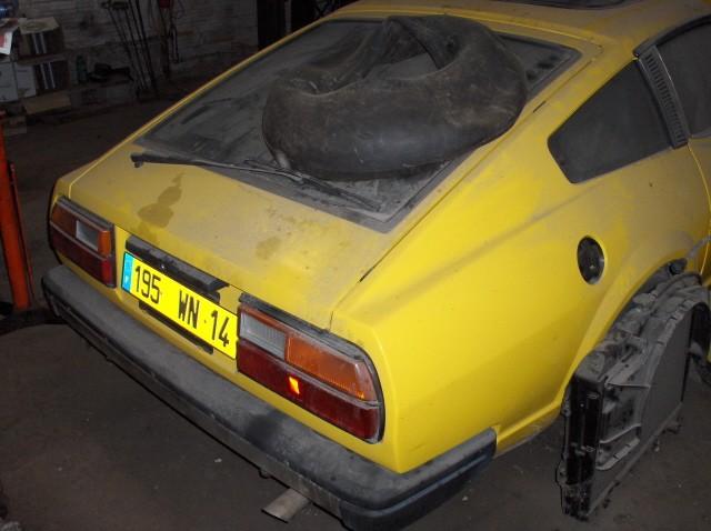 Le mysterre de la 280ZX jaune Datsun14