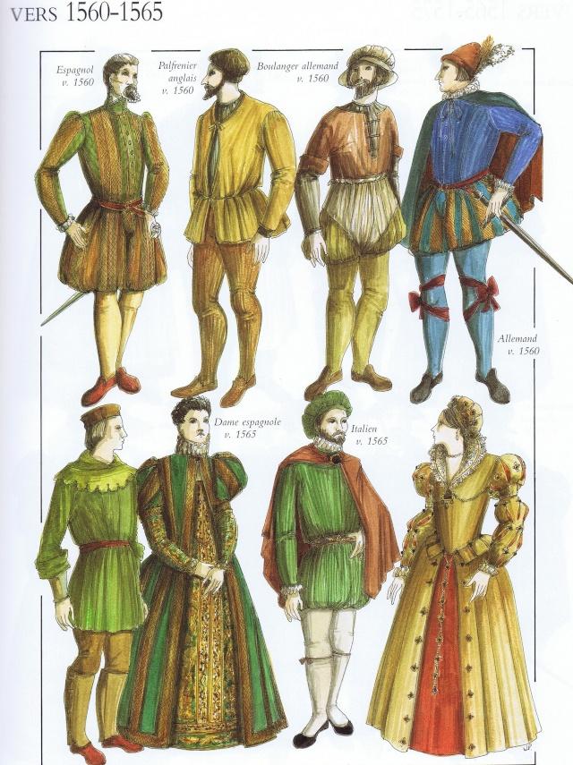 L'atelier de JFP - 2 - Cervantès à Lépante - Page 22 - Page 5 Costum14