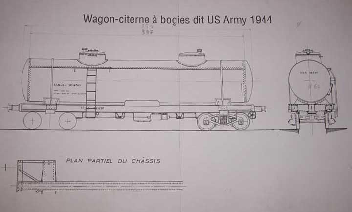 Wagon citerne à bogies dit US Army 1944 Citern10