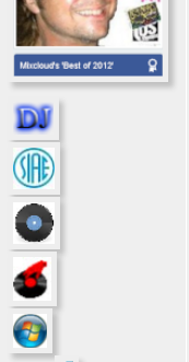 Raggruppare le icone sotto l'avatar Icone11
