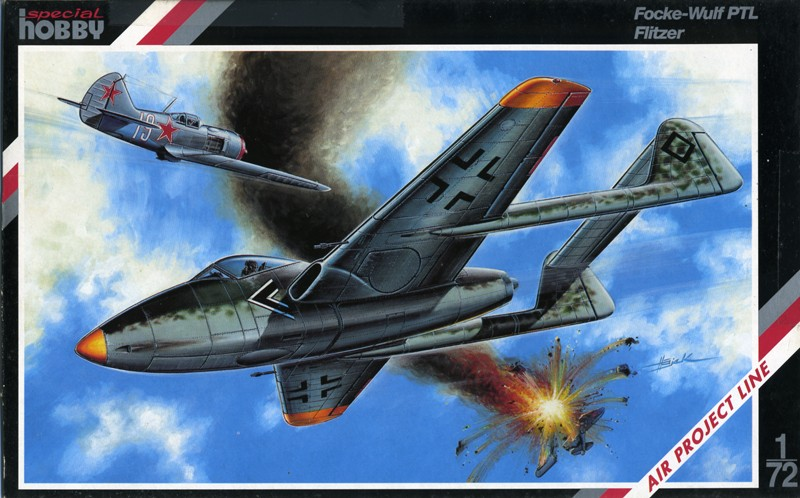 "Focke-Wulf PTL ""Flitzer"" [1:72 - Spécial Hobby] Boxart10"
