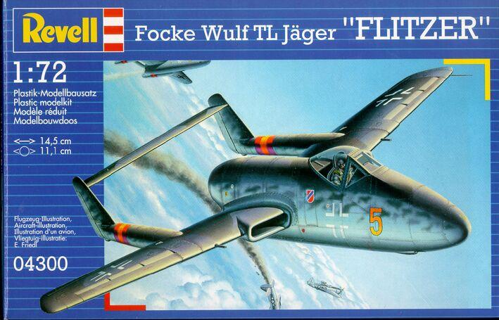 "Focke-Wulf PTL ""Flitzer"" [1:72 - Spécial Hobby] Rev04310"