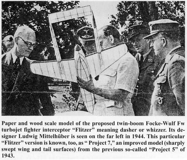 "Focke-Wulf PTL ""Flitzer"" [1:72 - Spécial Hobby] V3-210"