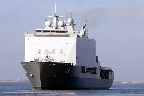 Amfibische transportschepen - Landing Platform Dock 01a410