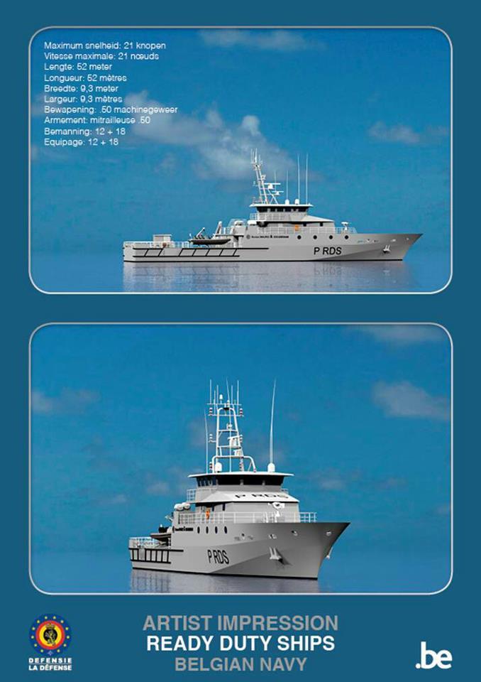 Deux nouveaux patrouilleurs pour la marine belge 75891_10