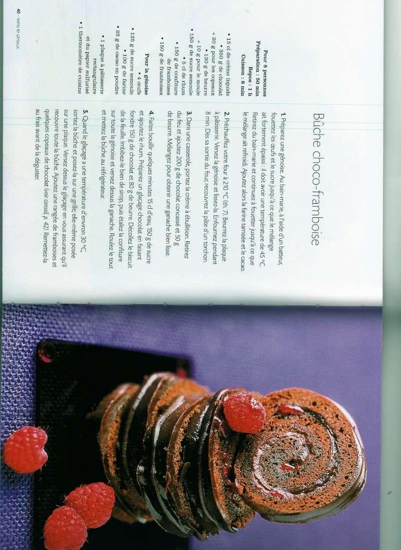 buche de noel chocolat framboise Buche_11