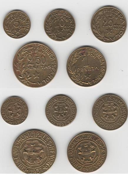 Guerra Civil, monedas de Menorca! Civilg10