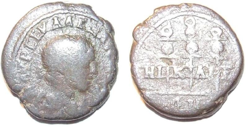 Bronzes de Valérien 1er et alexandre sévére Coloni10